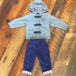 Tommy Hilfiger Fleece Jacket & Pants Matching Set